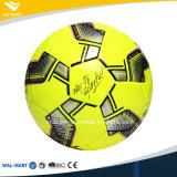 Taille brillante jaune lumineuse 5 4 du football d'éponge de PVC