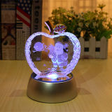 Alta qualidade e cor de cristal bonita Apple para o presente de feriado