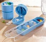 Casella della pillola con schiacciamento