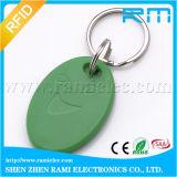 O anel de RFID Keychain com positivo S x microplaqueta de 2k/4k personaliza o logotipo