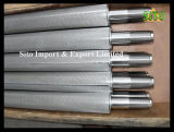 De Filter van de Cilinder van het Netwerk van de Draad van het roestvrij staal voor de Filtratie van de Olie van het Gas van het Water