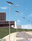 luz de rua 8m solar do diodo emissor de luz de 6m com bateria de lítio