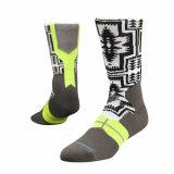 Qualitäts-Polyester-rutschfeste Non-Slippery Griff-Socken für Sport