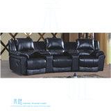 Modernes ledernes Recliner-Sofa für Heimkino (HW-J10S)