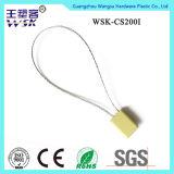 Justierbare selbstsichernde Strichkode-Druck-Behälter-Kabel-Dichtung