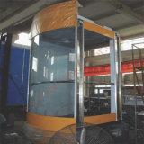 Lift van de Cabine van de Lift van de passagier de Luxueuze voor de Bouw Commercail