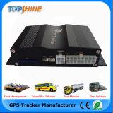 Perseguidor del GPS del vehículo del sensor del combustible de la tarjeta de la cámara OBD2 SD