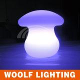 LED 떨어지는 버섯 빛을 바꾸는 색깔