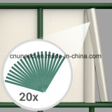 좋은 품질 Ral6005 450g 19cm*35m PVC 지구 스크린 정원 담