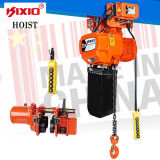 Kixio 3ton Industrial Building Low-Headroom Electric Chain Hoist (2 chaînes)