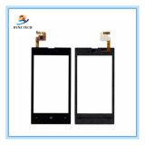 Nokia Lumiaのための移動式携帯電話LCDのタッチ画面520のN520ガラス計数化装置の部品