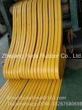 Industrieller und Agriclture 28oz 32oz flacher Transmissionsriemen mit gelber Brown-orange grüner und schwarzer Farbe
