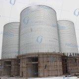 Preço de aço galvanizado do silo do armazenamento da grão
