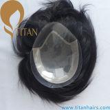 Mono Top com cabeleira dianteira de cabelo de calcanhar