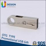 Movimentação instantânea da pena do USB do logotipo de DIY OTG