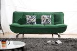 Wohnzimmer Zwei-Sitzveloursleder-Gewebe-Sofa-Bett