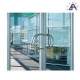 Portes articulées par main en aluminium/portes en aluminium de tissu pour rideaux