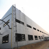 Erschwingliche Stahlrahmen-Werkstatt-Gebäude mit niedrigen Kosten