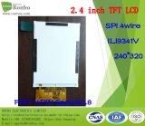 """2.4 """" экран 240X320 Spi TFT LCD, Ili9341V, 14pin для POS, дверного звонока, медицинского"""