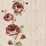 Het mooie Document van de Muur van de Decoratie van de Muur Materiële Bloemen