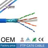 Beschermde Folie van de Prijs van het Broodje van FTP van de Kabel van het Netwerk van Sipu de In het groot CAT6 305m
