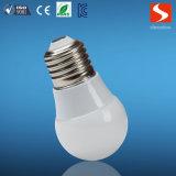 bulbo do diodo emissor de luz 3W com base E27