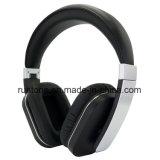 Ruido activo que cancela los auriculares estéreos del Sobre-Oído sin hilos de Bluetooth con el micrófono