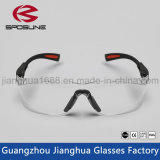 Le tempie flessibili di Reclus del nero economico degli occhiali di protezione rimuovono l'obiettivo per funzionamento di taglio