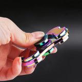 2017 cabritos multicolores del metal del hilandero del dedo del rodamiento de la aleación de aluminio del hilandero de la mano/juguete anti divertido adulto de la persona agitada de la tensión