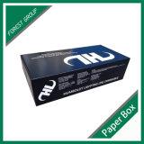 Kundenspezifischer gedruckter Farben-gewölbter Papierkasten für das Verpackungs-Einkaufen
