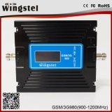 2g 3G 4G de Dubbele Spanningsverhoger van het Signaal van de Telefoon van de Band 900/2100MHz Mobiele