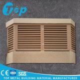 PVDF Außenmetallperforierte Klimaanlagen-Schutzkappe