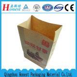 Bianco e sacchetto della carta kraft del Brown Per l'imballaggio per alimenti