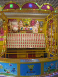 Cabine van Carnaval van de Spelen van het pijltje de Hoofd