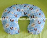Круглая кормя грудью подушка младенца с хлопком PP