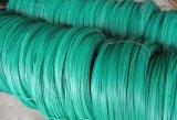 PVC上塗を施してあるワイヤー、PVCは鉄ワイヤー、PVCによってに塗られたタイワイヤー塗った