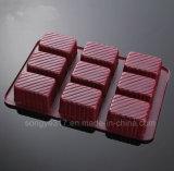 Bandeja de empacotamento de bolachas com biscoito de qualidade alimentar de PVC