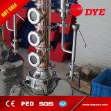 distillateur chaud d'alcool de matériel de distillation d'éthanol d'acier inoxydable de la vente 100L