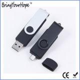 Lecteur USB OTG 3.0 8GB (XH-USB-001OTG) de crayon lecteur de Blacl