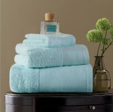 600GSMホテルのホーム鉱泉のための100%年の綿の白い浴室タオル