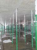 Cassaforma d'acciaio della costruzione di calcestruzzo con presto la spogliatura