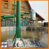 Sistema di plastica residuo di raffinazione del petrolio di pirolisi del pneumatico