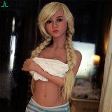Le meilleur jouet réel grandeur nature de sexe de poupée de fille de silicones de la poupée 155cm des prix pour la masturbation des hommes