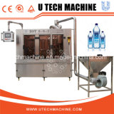 agua o máquina de rellenar pura en botella 3-in-1 del agua mineral