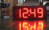 """tarjeta al aire libre de la muestra de la visualización de LED de la temperatura de la fecha del tiempo de reloj del número LED de 5 """" Digitaces"""