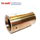 O CNC fêz à máquina os componentes da válvula que fazem à máquina as peças giradas