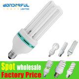 De lotus éclairage/E27/B22/E14/E40 CFL spiralé économiseur d'énergie bon marché d'éclairage LED de tube de /T3/T4/T5 d'ampoule de lampe de la vente en gros 2u/3u/4u de vente chaude de fournisseur plein demi économiseur d'énergie