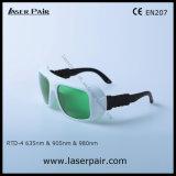 O.D3+ @ 630-660nm & O.D3+ @ 800-830nm & occhiali di protezione del laser del O.D5+ @900-1100nm Rtd-4 per 635nm il laser rosso +905nm, laser dei diodi 980nm con pagina 36