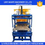 Wt4-10フルオートの土および粘土の連結の煉瓦作成機械