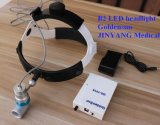 머리띠 유형 재충전용 의학 배터리 전원을 사용하는 LED 헤드라이트 3W